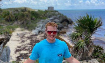 Tyler Vanarkel image from instagram in blue shirt